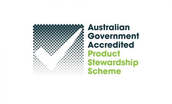 Logo of Australian Government Accredited Product Stewardship Scheme