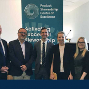 Group photo of key stakeholders at the launch of the Product Stewardship Centre of Excellence